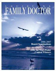 Louisiana Family Doctor - Louisiana Academy of Family Physicians