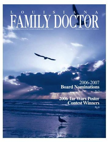 Louisiana Family Doctor - Louisiana Academy of Family Physicians