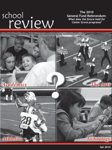 Fall 2010 Issue - Center Grove Community School Corporation