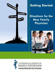 New Physician Toolkit - LAFP