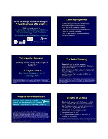 smoking cessation strategies - Louisiana Academy of Family ...