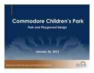 Commodore Children's Park - City of San José