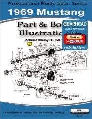 DEMO - 1969 Mustang Part & Body Illustrations - ForelPublishing.com