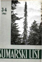 ÅUMARSKI LIST 3-4/1964