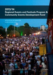Regional Events and Festivals Program & Community Events ...