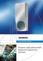 Pasywne czujki Siemens.pdf - ID Electronics Sp. z oo