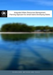 Integrated Water Resources Management Planning Approach - UNEP