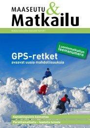 Maaseutu&Matkailu talvi 2011 - Maaseutupolitiikka