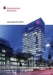 Jahresbericht 2012 - Stadtsparkasse Düsseldorf