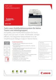 Farb-Laser-Multifunktionssystem für kleine Teams und ...
