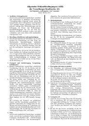 Allgemeine Einkaufsbedingungen (AEB)