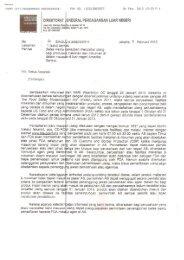 Surat Direktorat Jenderal Perdagangan Luar Negeri ... - GAPMMI