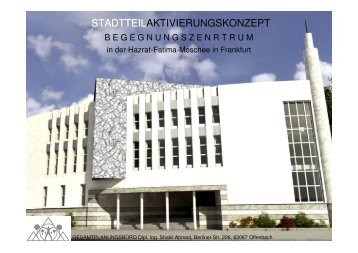 begegnungszentrum - Fatima Zahra Moschee