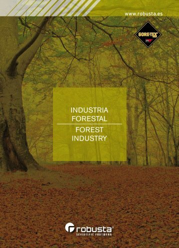 INDUSTRIA FORESTAL FOREST INDUSTRY