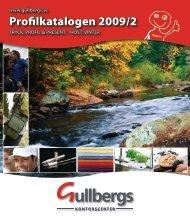 Profilkatalogen 2009/2 - Gullbergs