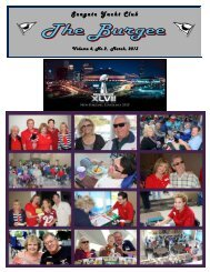 The Burgee -- Vol. 4, No. 2 - SeaGate Yacht Club