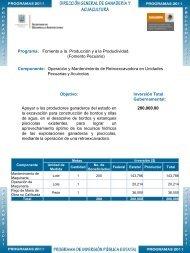 Fomento Pecuario - Gobierno del Estado de Morelos
