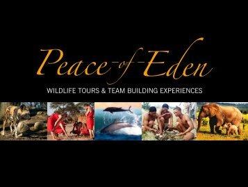 Peace of Eden Wildlife Tours & Team Building Experiences (pdf ...