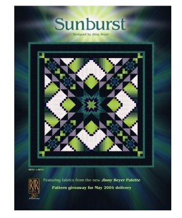 Sunburst - RJR Fabrics