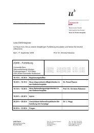 ZGKB – Fortbildung - zahnmedizinische kliniken zmk bern ...
