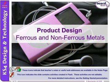 Ferrous and Non-ferrous Metals - Kingsdown School