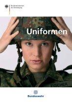 Die Uniformen der Bundeswehr ( PDF , 1,5 MB