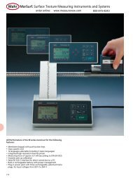 MarSurf. Surface Texture Measuring Instruments and Systems