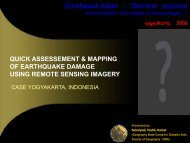 QUICK ASSESSEMENT & MAPPING OF EARTHQUAKE DAMAGE USING REMOTE ...