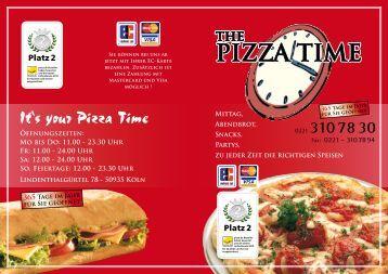 PDF-Datei runterladen - Pizzatime