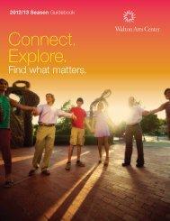 Season Brochure - Walton Arts Center