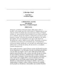 A Ideologia Alemã Karl Marx Friedrich Engels A ... - histedbr