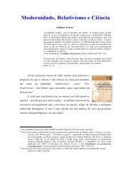 Adelino Torres-Modernidade_Relativismo e ... - adelinotorres.com