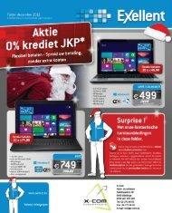 Aktie 0% krediet JKp - X-com