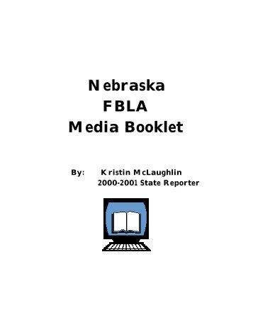 Nebraska FBLA Media Booklet