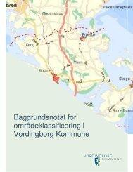 Baggrundsnotat for områdeklassificering i Vordingborg Kommune