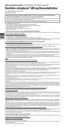 Ranitidin-ratiopharm® 300 mg Brausetabletten - pharma-fuchs.de
