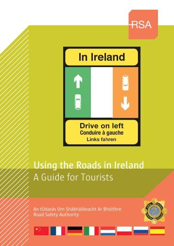 Road Safety in Ireland - Information for tourists - Dublin
