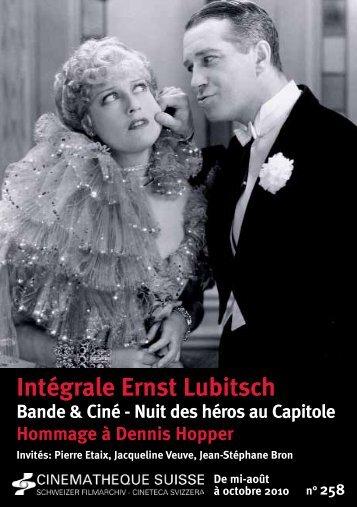Bulletin n°258 - Cinémathèque suisse