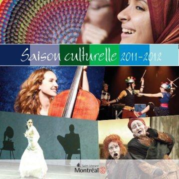 Saison culturelle 2011-2012 - Ville de Montréal