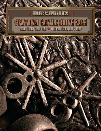 Cowtown Cattle Drive Sale - American International Charolais ...