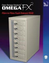 Fibre to Fibre Fault-Tolerant RAID - Open Storage Solutions