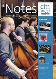 Notes Jan -Mar 07 WEB.indd - Cleveland Institute of Music