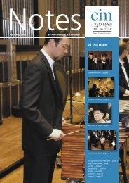 • Notes Spring 07 WEB.indd - Cleveland Institute of Music
