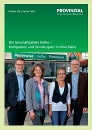 Die Geschäftsstelle Keller – Kompetenz und Service ... - WIR in Hille