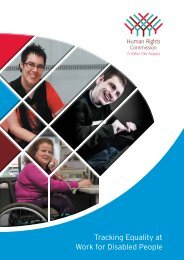 Tracking Equality at Work for Disabled People - Human Rights ...