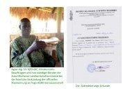 per Klick zum Bericht mit 2 Folien - Togo-Kinder Zukunftschance eV