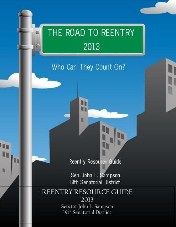 REENTRY RESOURCE GUIDE 2013 - New York State Senate