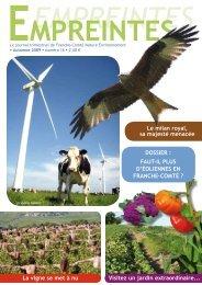 Empreintes (automne 2009) - La maison de l'environnement de ...