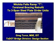 "Wichita Falls Ramp ""T"" - Ferguson Structural Engineering Laboratory"
