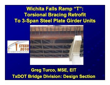 "Wichita Falls Ramp ""T"" - Ferguson Structural Engineering Laboratory"